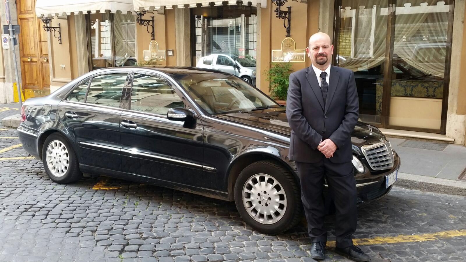 NCC Lazio Graziano Piperno noleggio con conducente