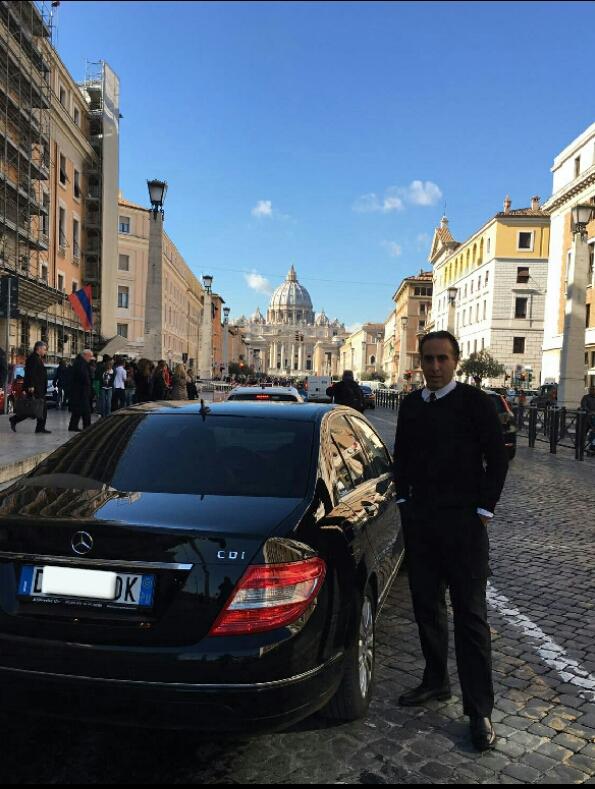 Driver Massimo di Rapisarda Settimo noleggio con conducente